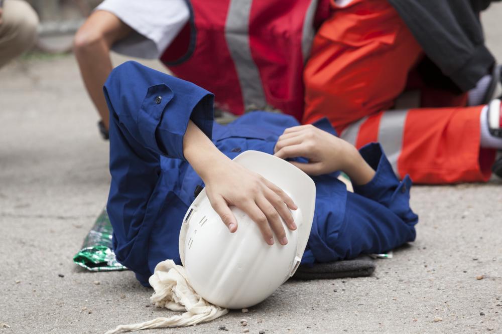 accidente de construcción