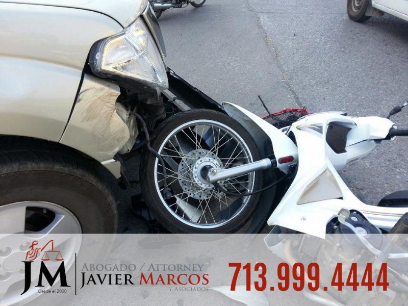 Accidentes de motocicleta | Abogado Javier Marcos 713.999.4444