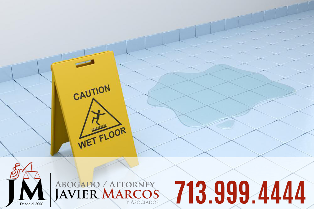 Resbalon y caida   Abogado Javier Marcos 713.999.4444