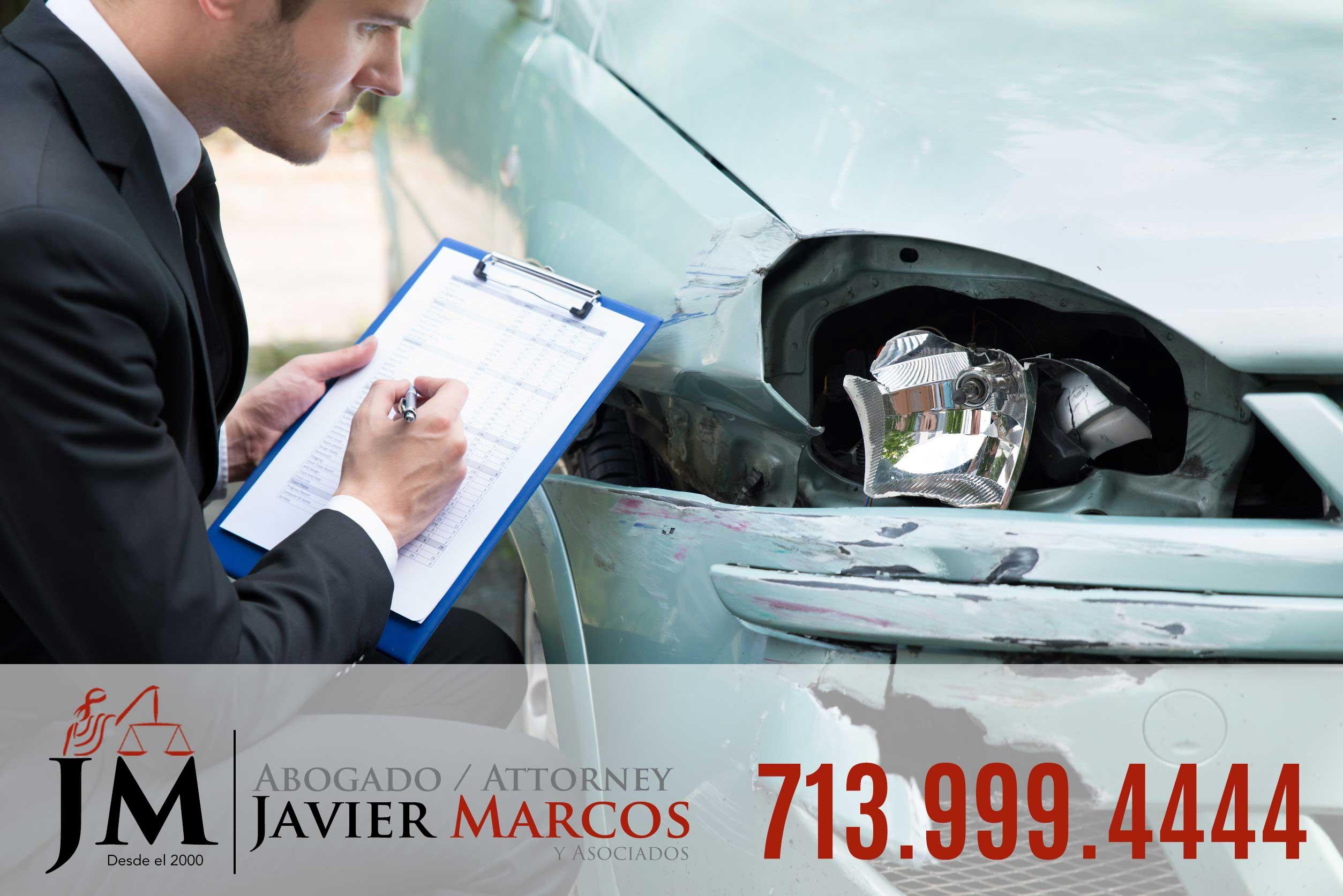 Seguro de accidente de carro | Abogado Javier Marcos 713.999.4444