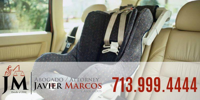 Seguridad de asiento de ninos | Abogado Javier Marcos | 713.999.4444