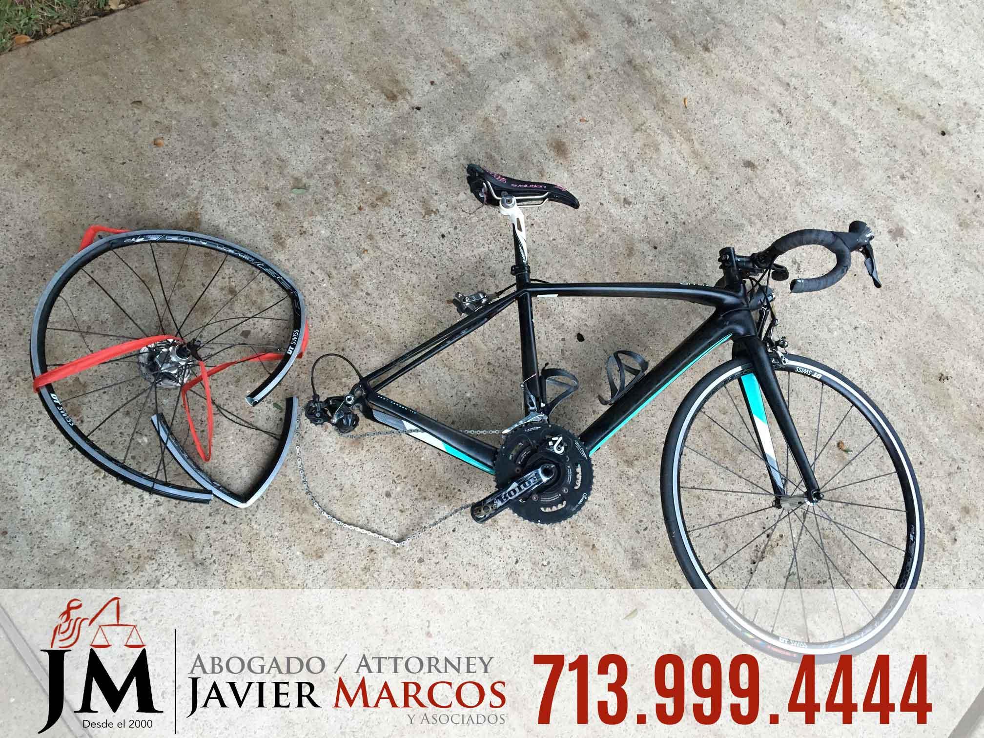 Abogado de Accidente de Bicicleta | Abogado Javier Marcos | 713.999.4444