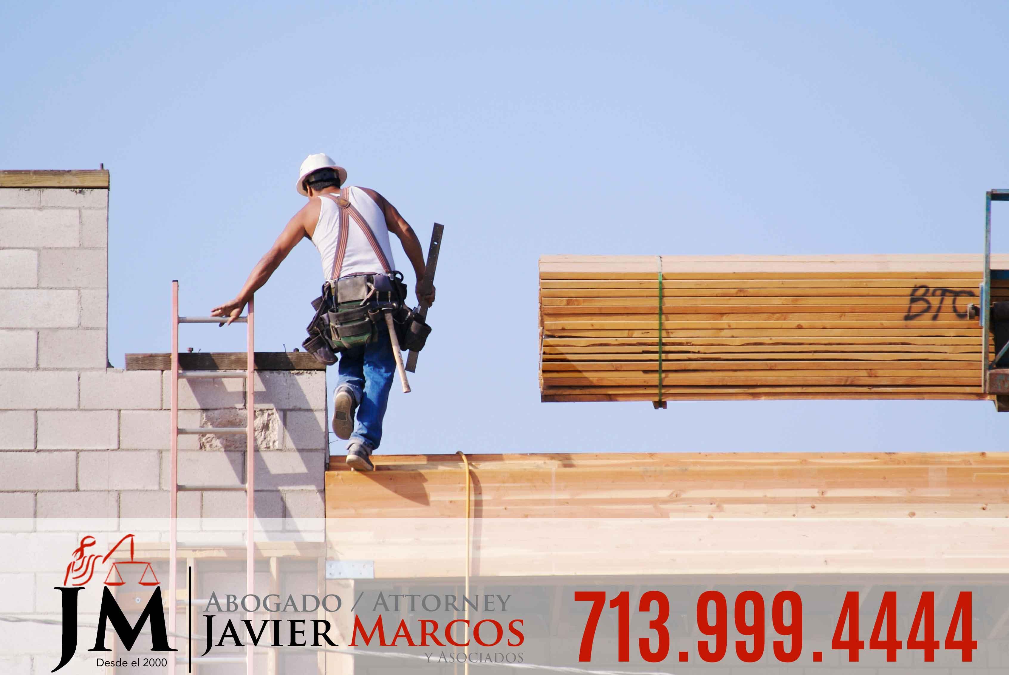 Abogado de Accidente de Construccion | Abogado Javier Marcos | 713.999.4444