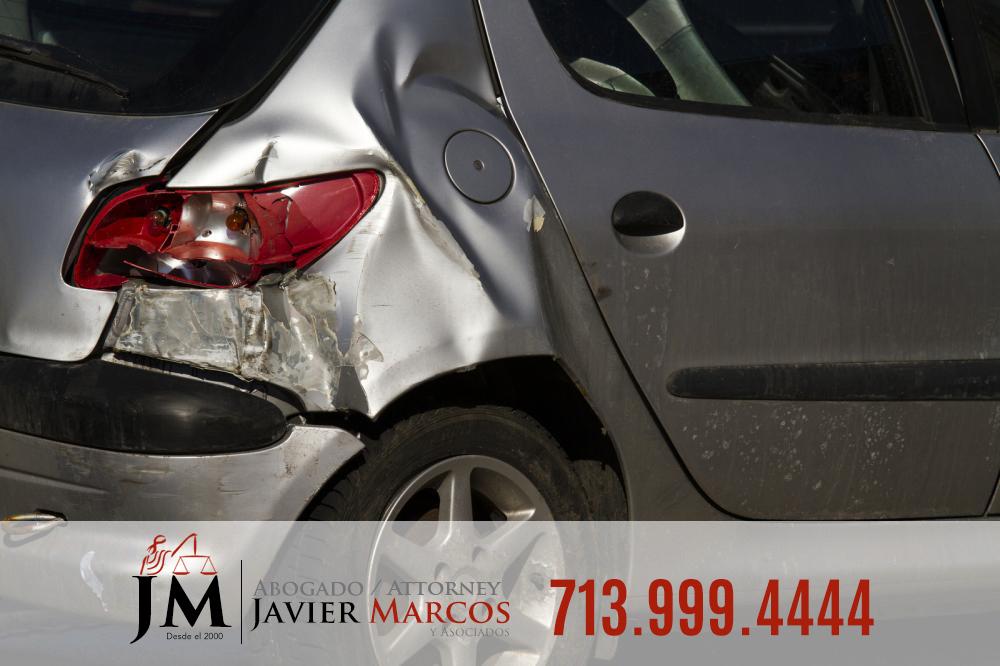 Choque por atras   Abogado Javier Marcos   713.999.4444