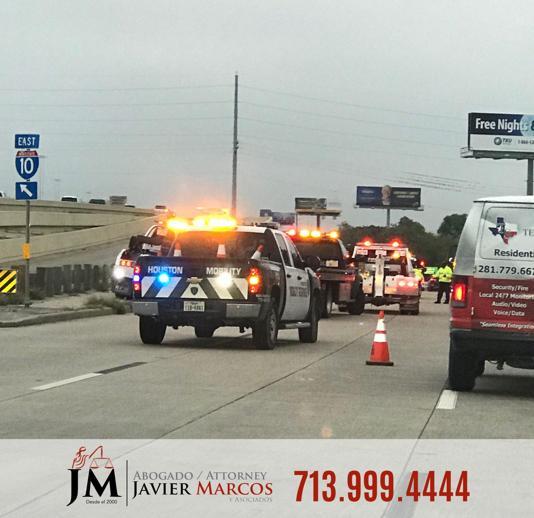 Abogado accidente trailer | Abogado Javier Marcos | 713.999.4444