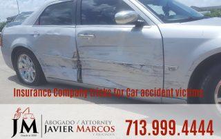 Compania de seguro | Abogado Javier Marcos | 713.999.4444