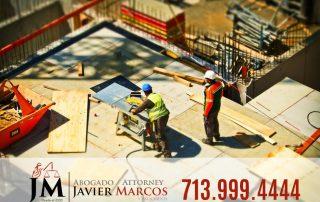 Compensacion al trabajador | Abogado Javier Marcos | 713.999.4444