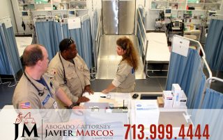 Doctor despues del accidente | Abogado Javier Marcos | 713.999.4444