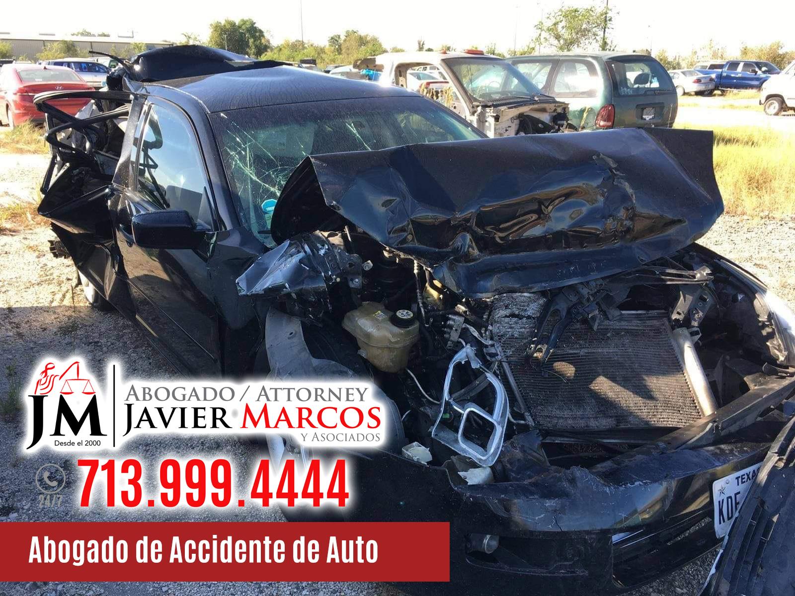 Abogado de Accidente de Auto | Abogado Javier Marcos