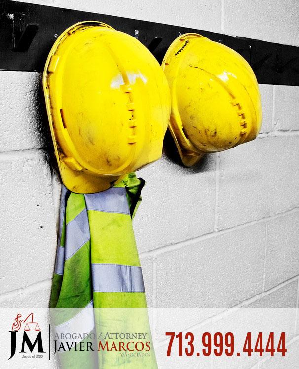 Lesion de Trabajo | Abogado Javier Marcos | 713.999.4444