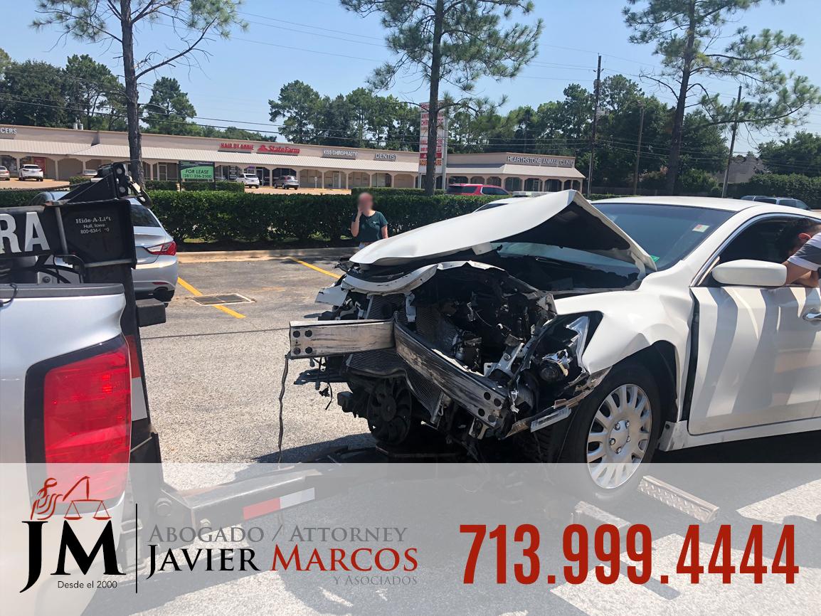 Abogado Accidente Automovilistico | Abogado Javier Marcos | 713.999.4444