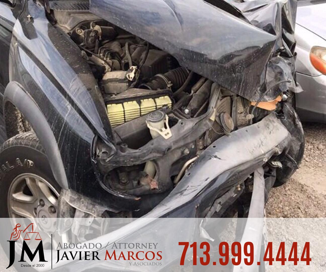 Reclamo por accidente de auto | Abogado Javier Marcos | 713.999.4444
