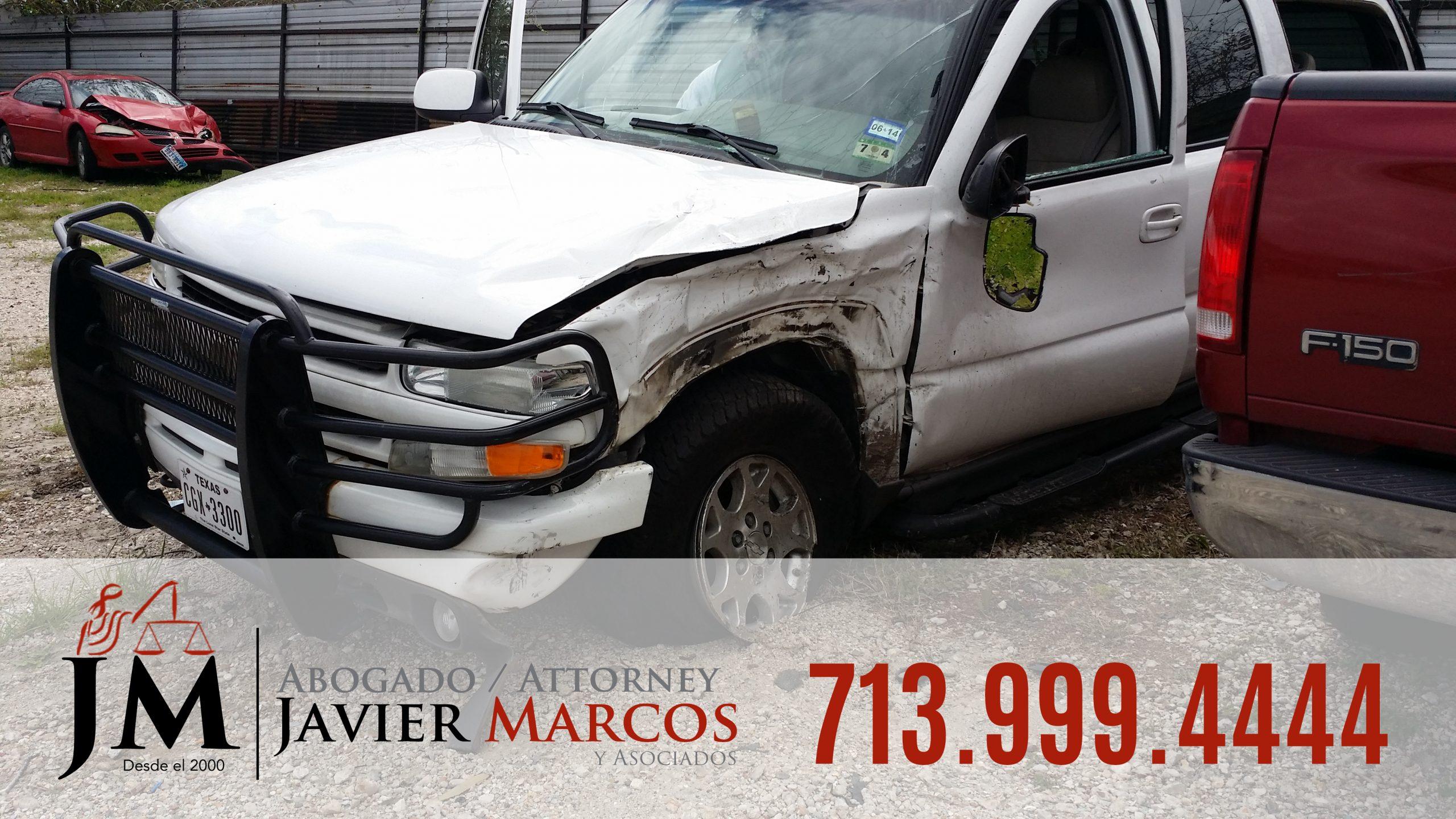 Lesiones Personales y Danos a la propiedad   Abogado Javier Marcos   713.999.4444