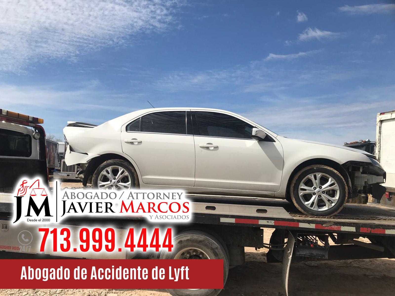 Abogado de Accidente de Lyft | Abogado Javier Marcos | 713.999.4444