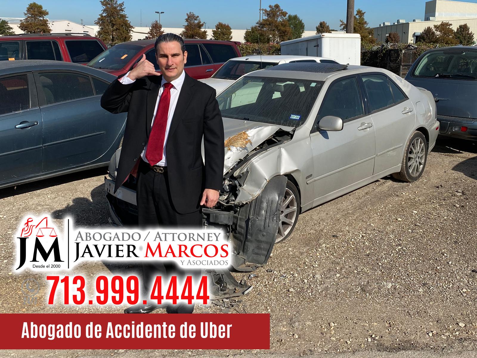 Abogado de Accidente de Uber | Abogado Javier Marcos | 713.999.4444