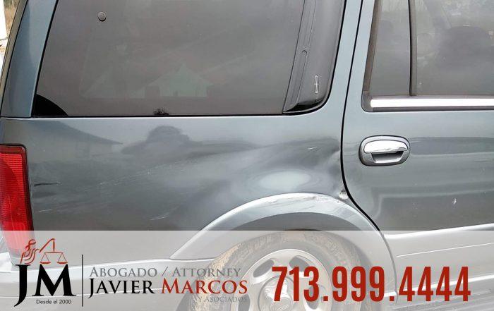 Conductor de Automovil | Abogado Javier Marcos | 713.999.4444