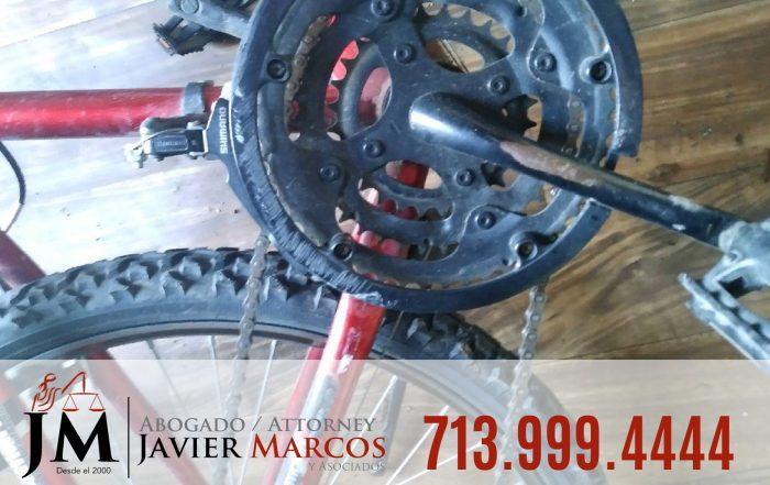 Abogado para accidente de bicicleta | Abogado Javier Marcos | 713.999.4444