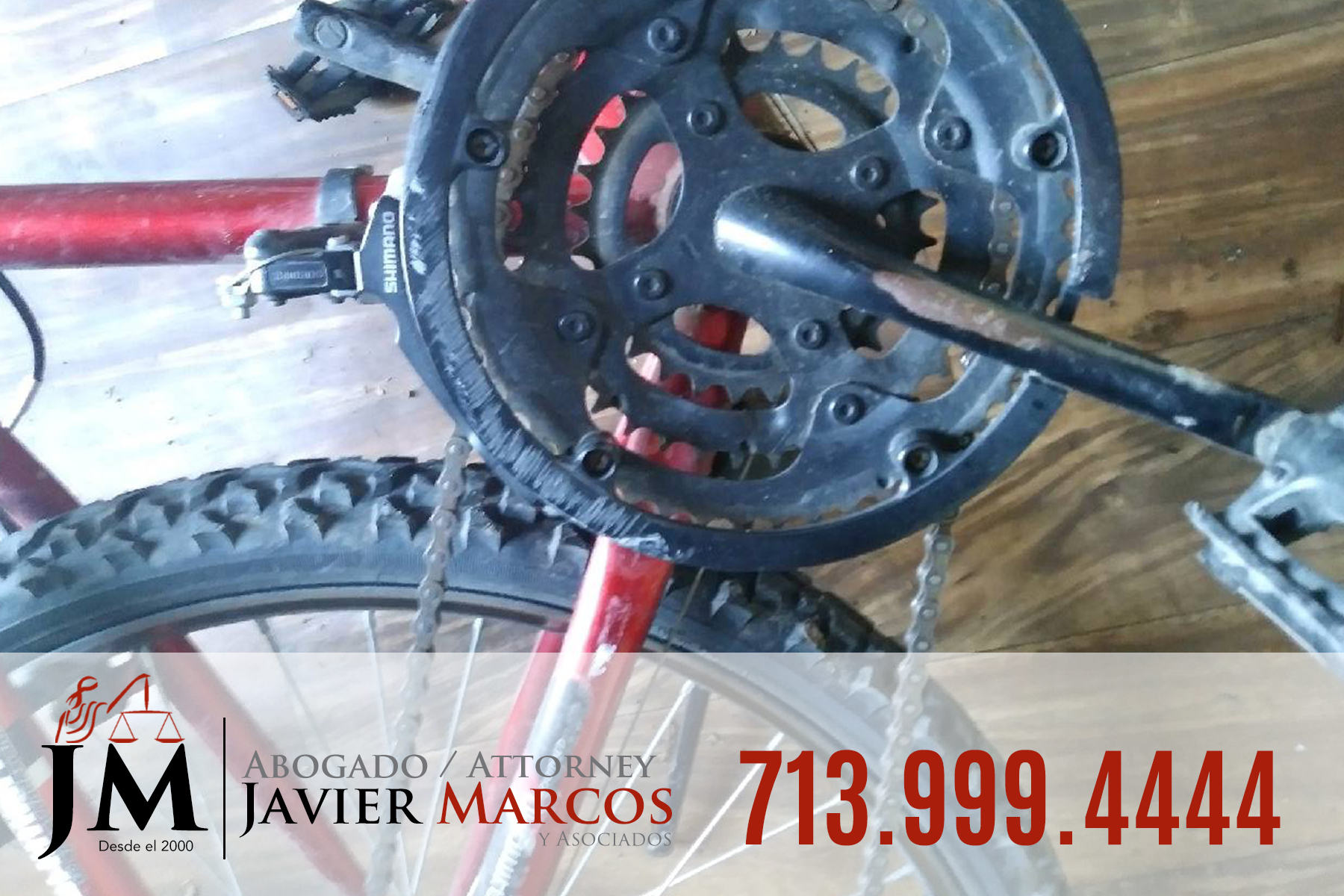 Abogado para accidente de bicicleta   Abogado Javier Marcos   713.999.4444