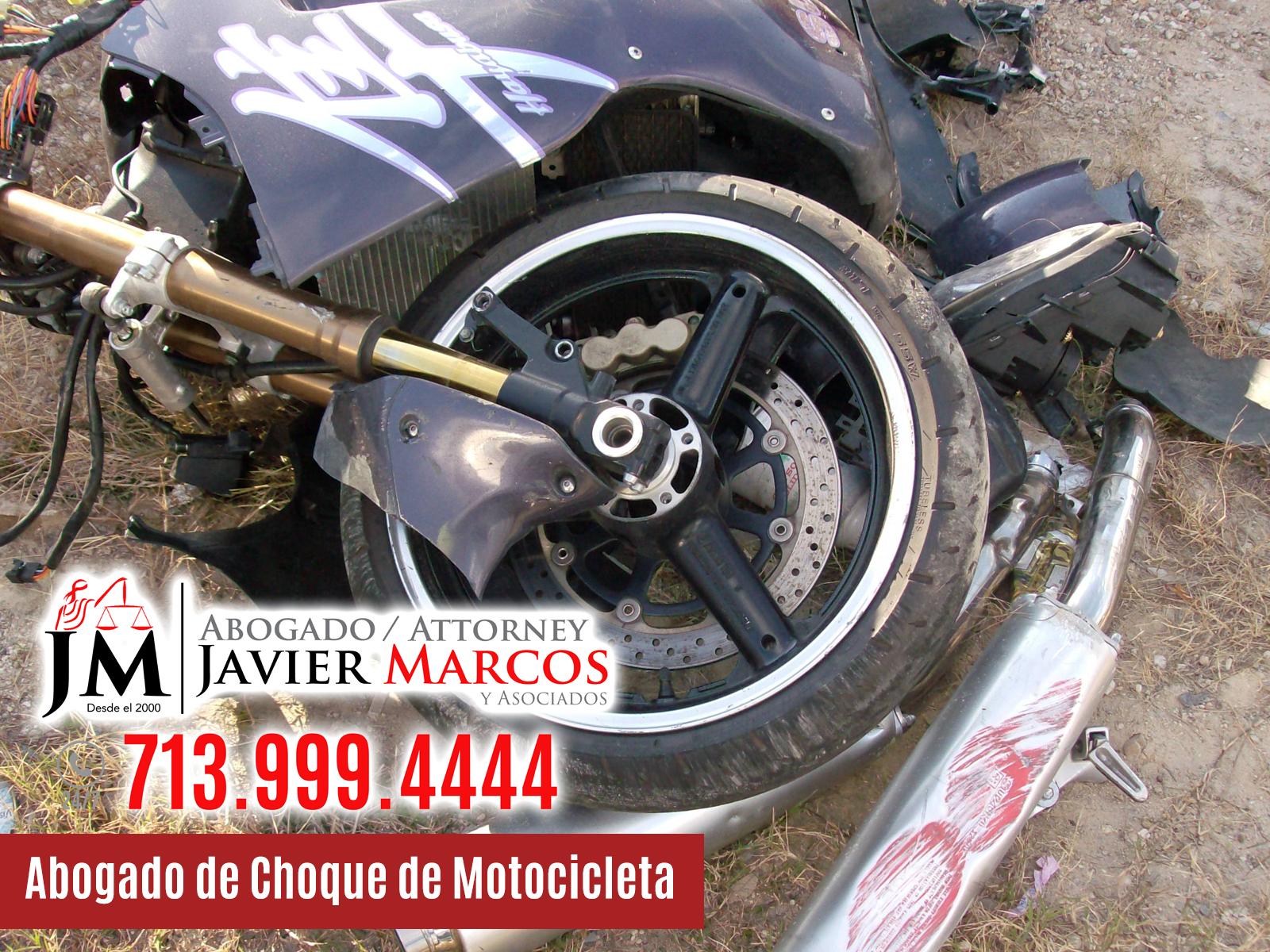 Abogado de Accidente de Motocicleta   Abogado Javier Marcos   713.999.4444