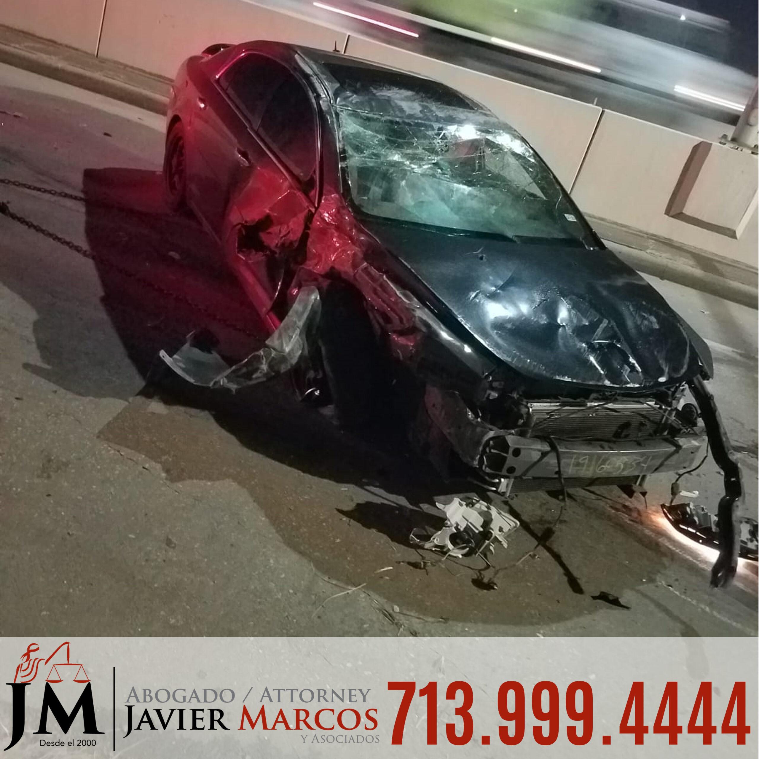Abogado de Accidente de Coche | Abogado Javier Marcos | 713.999.4444