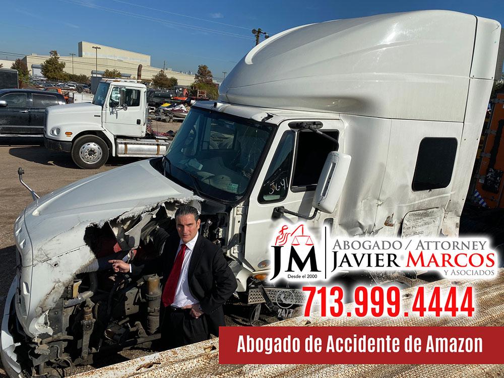 Abogado de Accidente de Amazon   Abogado Javier Marcos   713.999.4444
