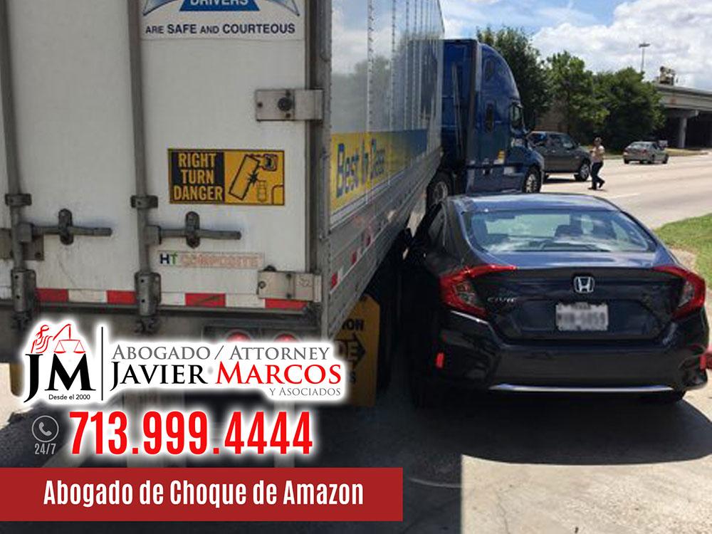 Abogado de Choque de Amazon   Abogado Javier Marcos   713.999.4444