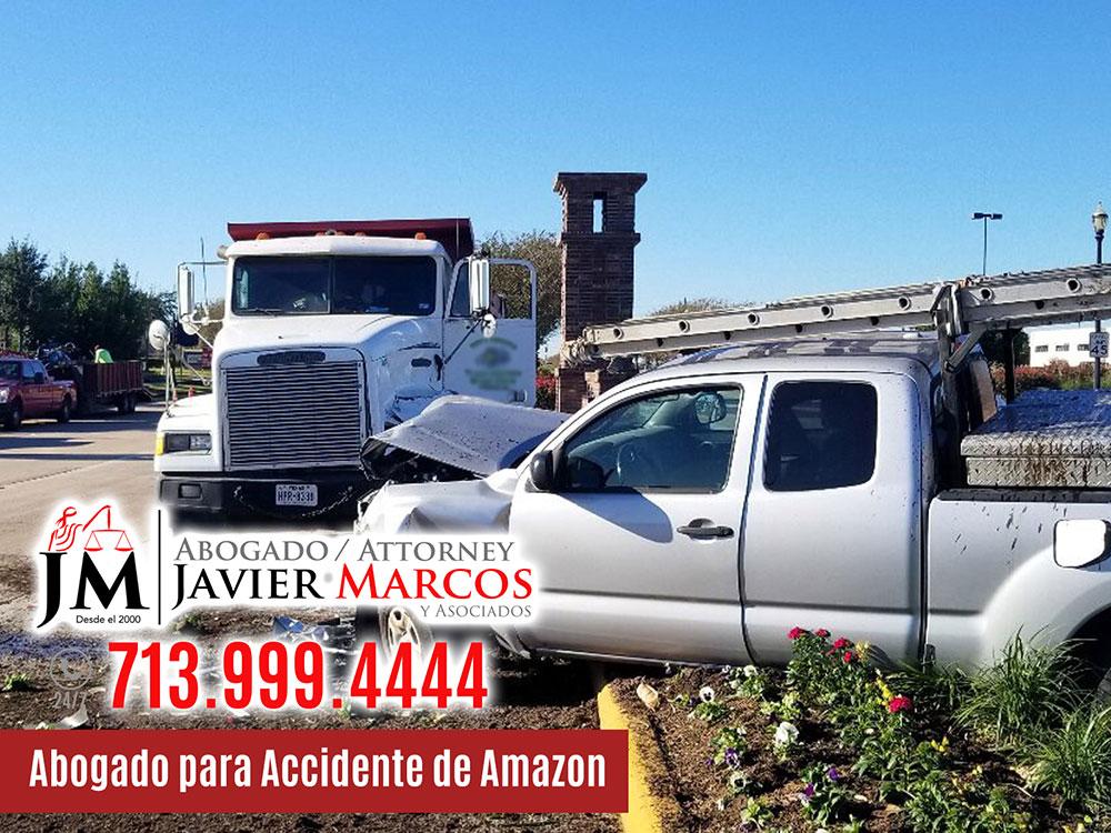 Abogado para Accidente de Amazon   Abogado Javier Marcos   713.999.4444
