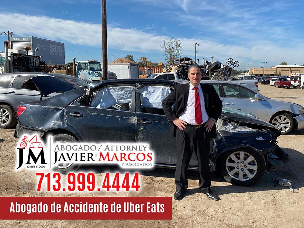 Abogado de Accidente de Uber Eats | Abogado Javier Marcos | 713.999.4444