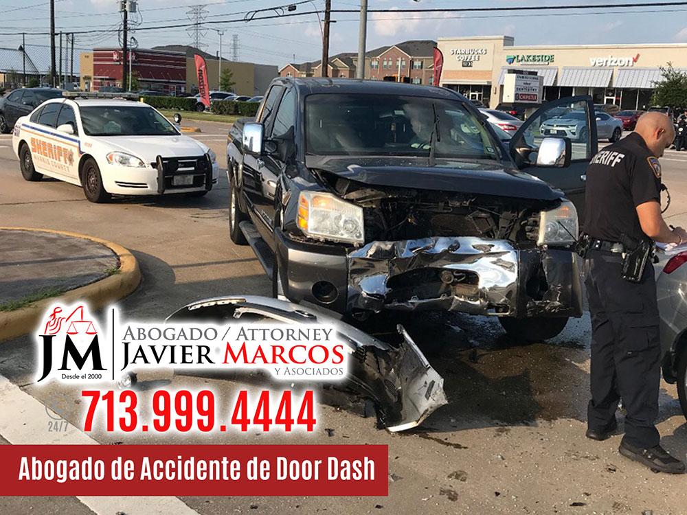 Abogado de Accidente de Door Dash | Abogado Javier Marcos | 713.999.4444