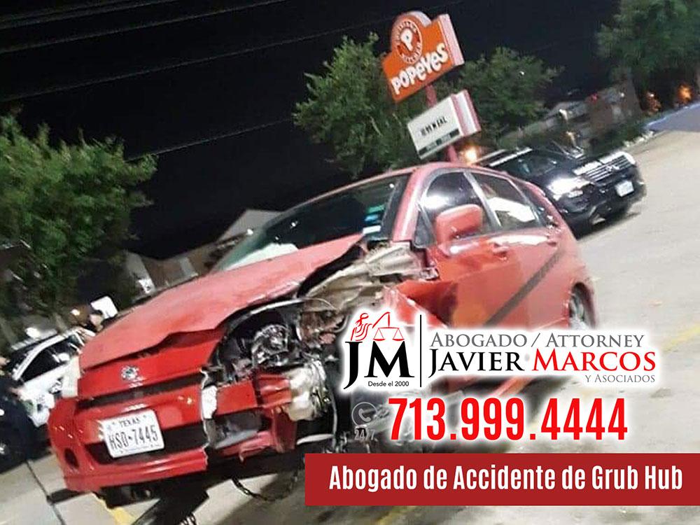 Abogado de Accidente de Grub Hub | Abogado Javier Marcos | 713.999.4444