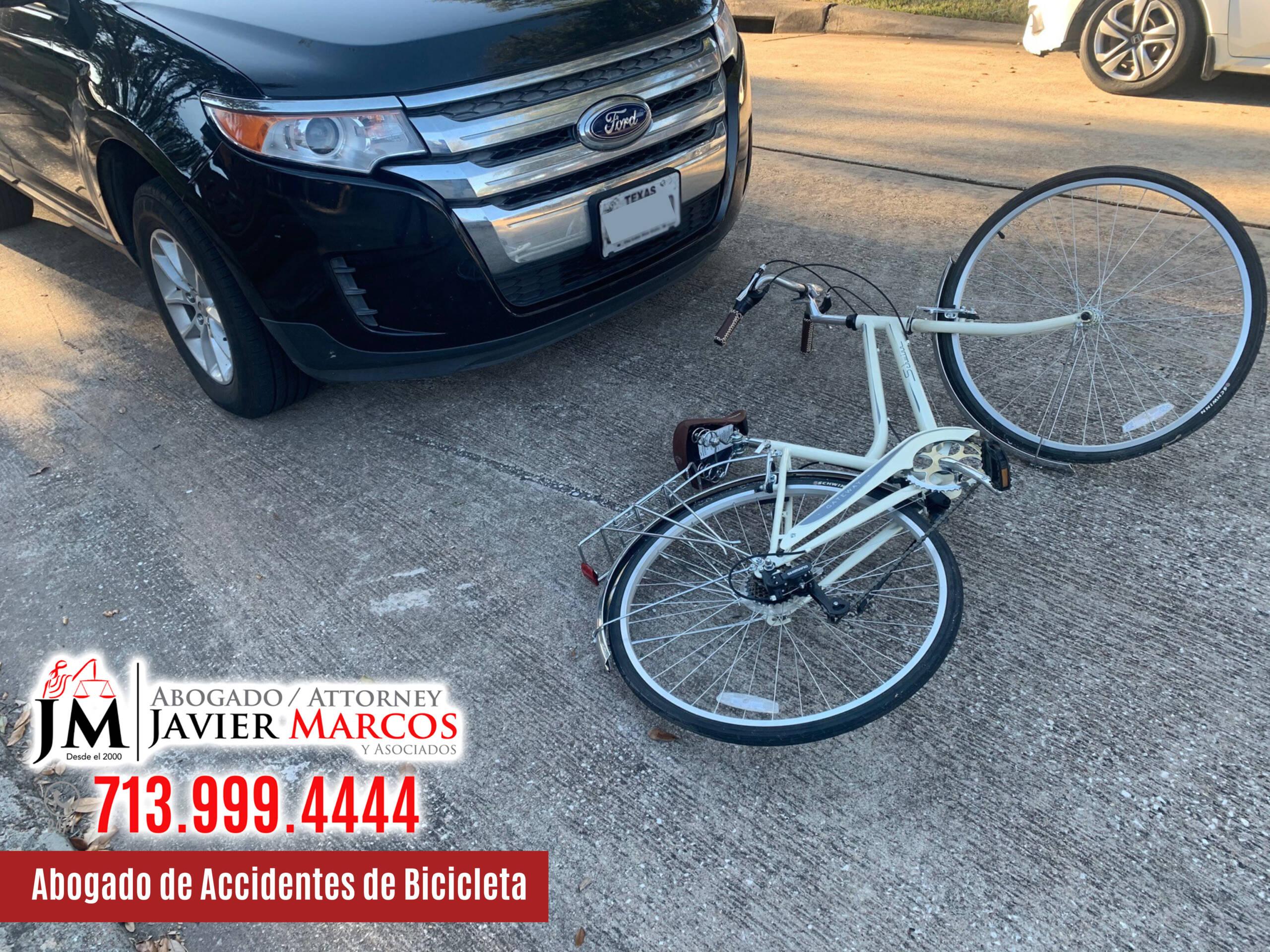 Abogado de Accidentes de Bicicleta | Abogado Javier Marcos | 713.999.4444