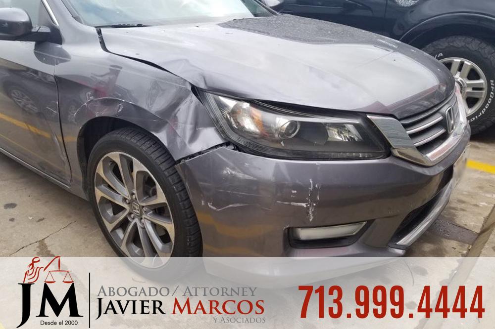 Accidente de auto en Texas | Abogado Javier Marcos | 713.999.4444