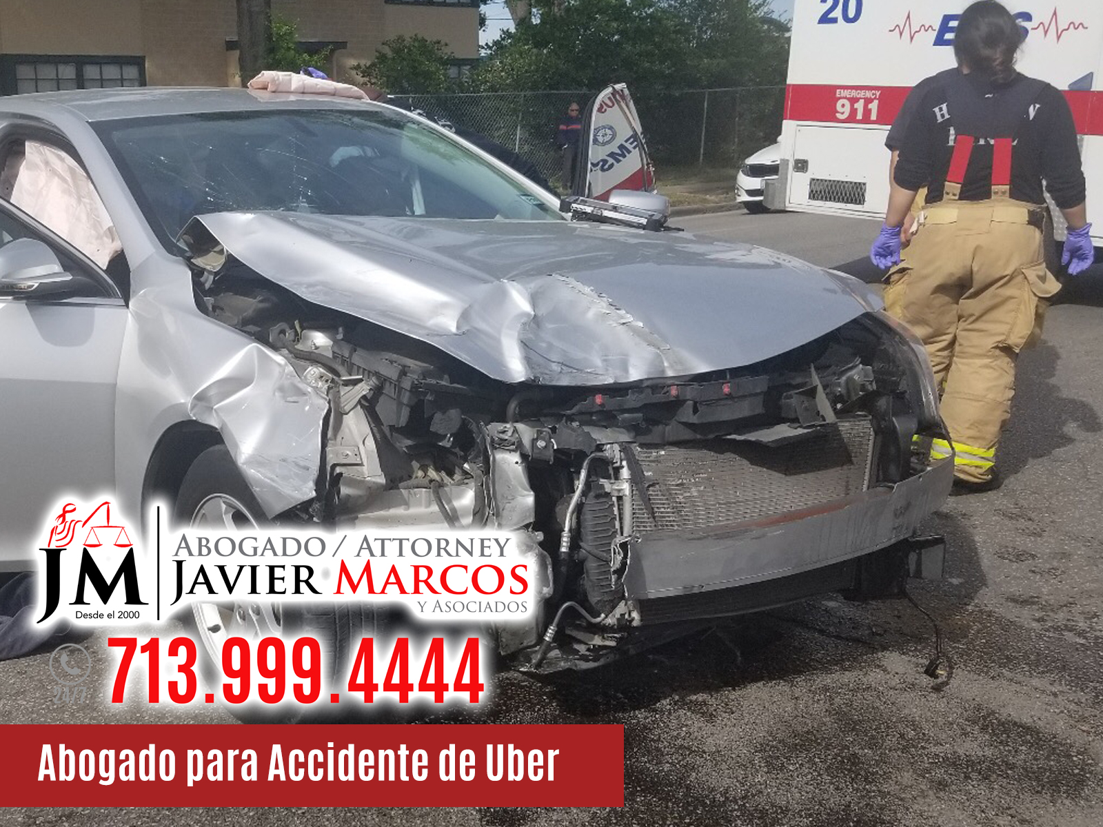 abogado para accidente de uber