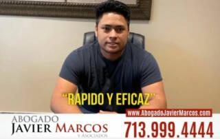 Testimonio de Abogado de Auto | Abogado Javier Marcos | 713.999.4444